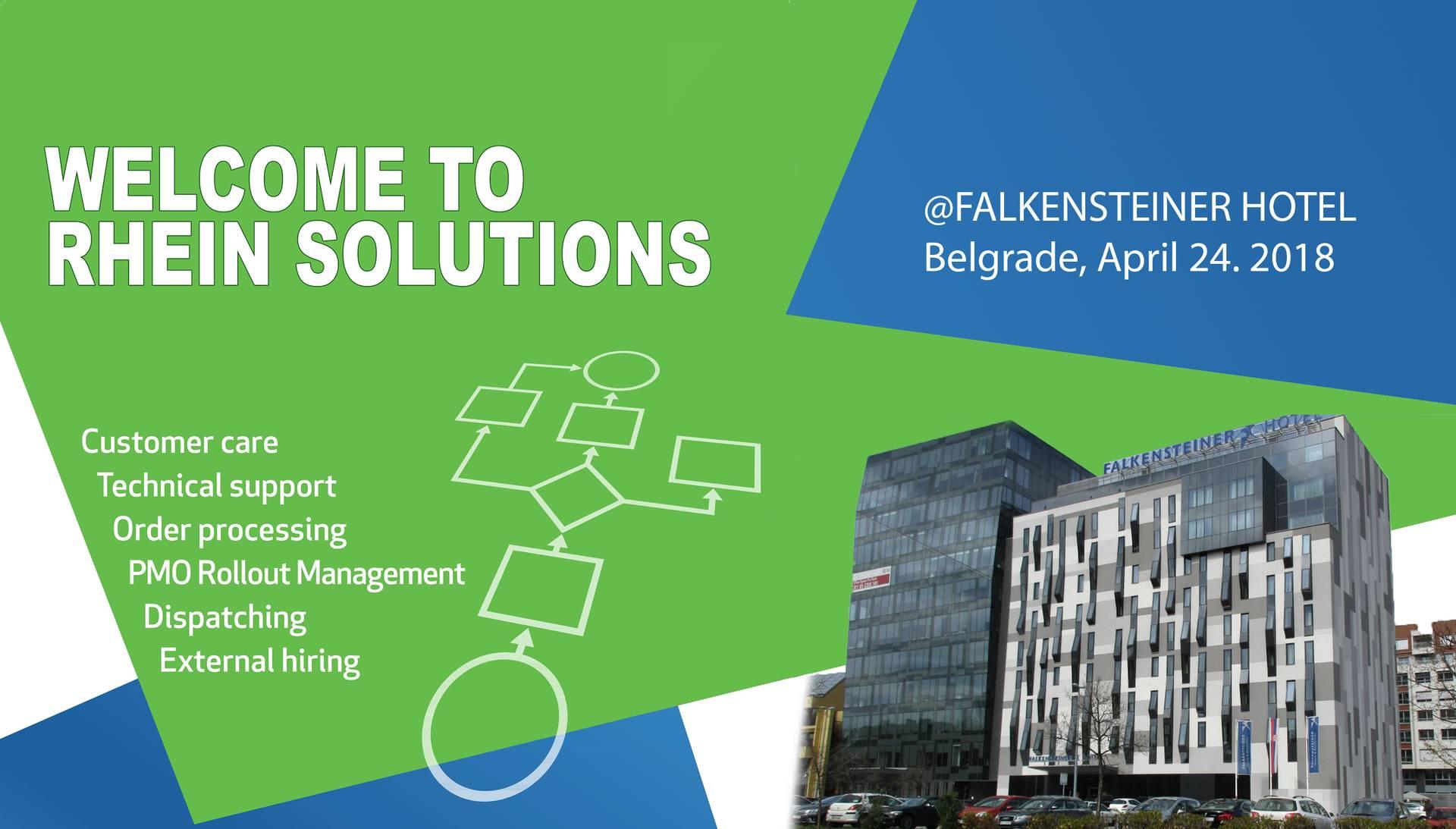 Rhein Solutions Day @ Hotel Falkensteiner 24.04.2018
